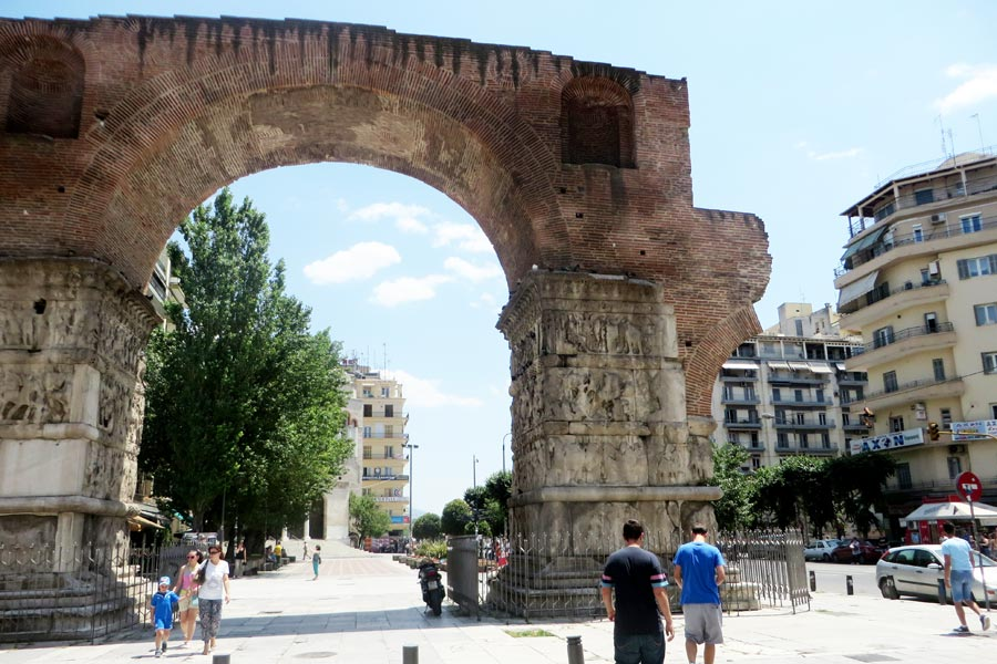 Thessaloniki Torbogen
