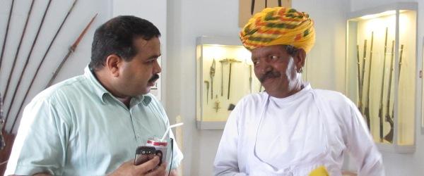 Udai Singh hat bereits viel erlebt und noch viel vor: Als Reiseleiter in seinem Heimatland Indien möchte er den Besuchern das indische Leben erklären.