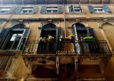 Balkon in Verona
