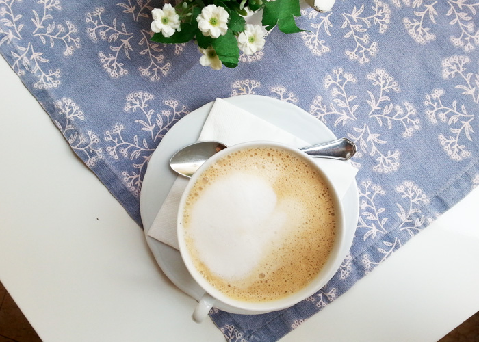 Kaffee in Verona, Italien