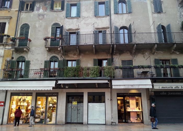 Einkaufen in Verona, Italien