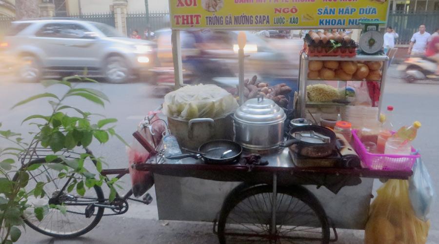 Garküche in Vietnam