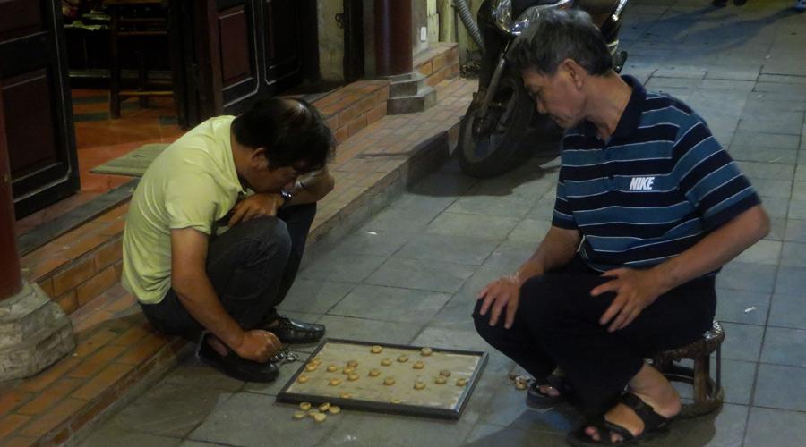 Brettspiel in Vietnam