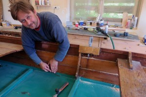 Bootsbau Domenig am Weissensee, Michael Winkler