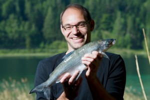 Berfsfischer Martin Müller vom Weissensee