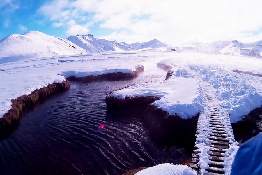 Landmannalaugar in Island