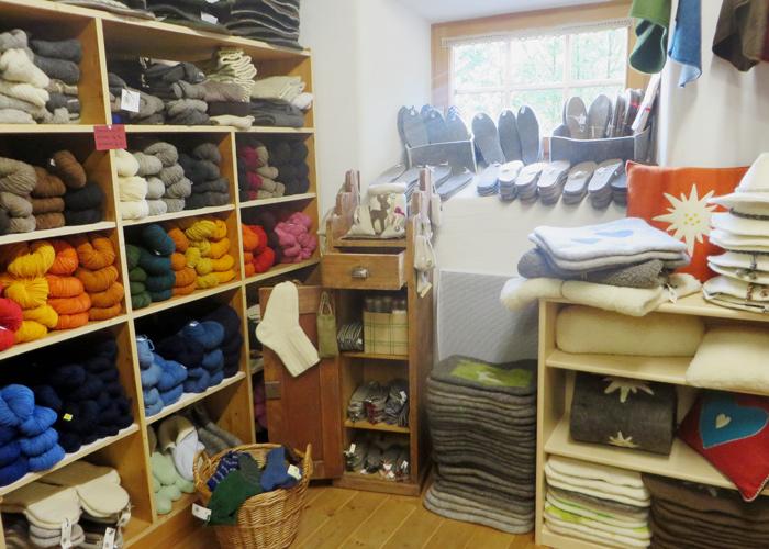 Filzen: Handtaschen, Socken, Patschen etc.