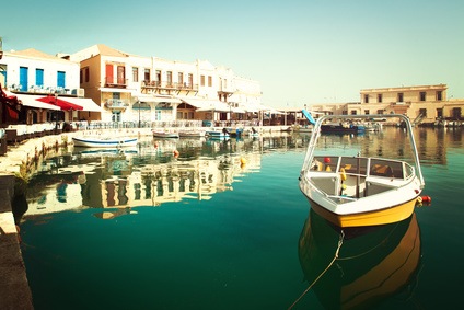 Boot in Rethymnon, Kreta