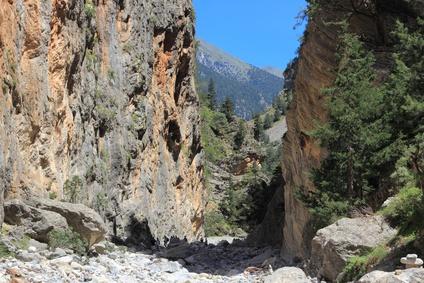 Samaria Gorge auf Kreta