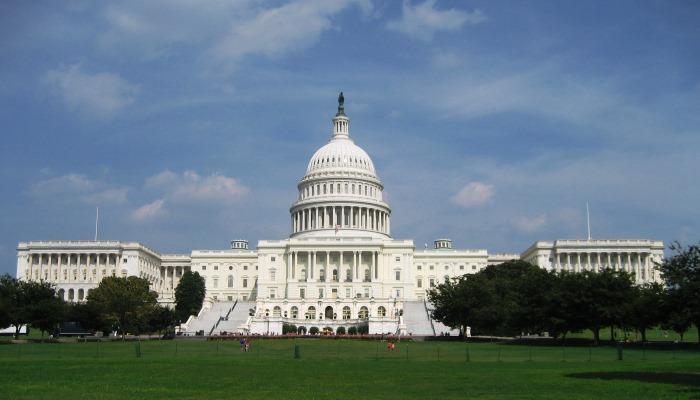 Das Kapitol in Washington, D.C. dient als Wahrzeichen - Andrea wird dort als Wissenschafterin Fuß fassen.