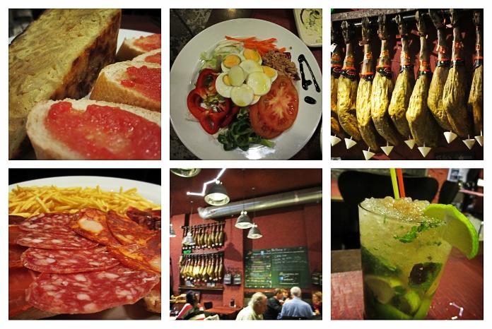 Original spanische Spezialitäten aus der Extremadura werden bei Los Bellota aufgetischt.