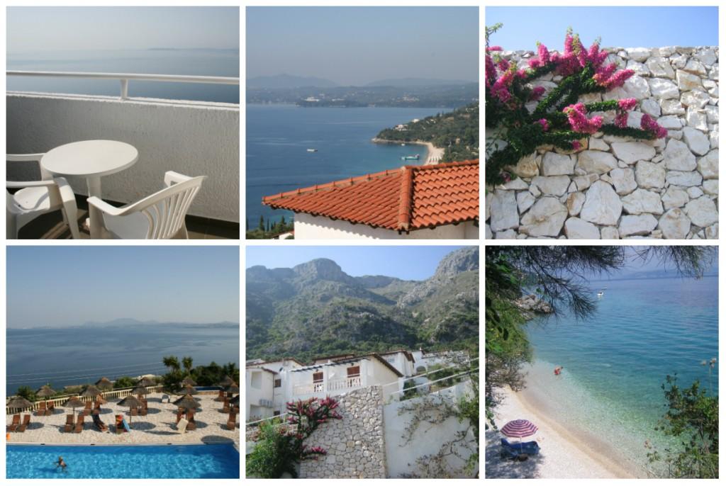 Hotel Pantokrator auf Korfu
