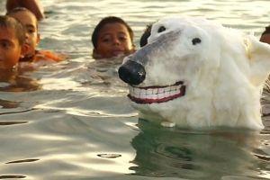 Tiere am Klimagipfel von Vincent F. J. Huang