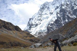 Kurz vor der Passüberquerung auf eta 5.000 Metern Höhe.
