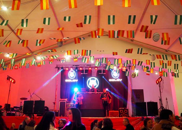 Andalusien_Malaga_weisse Doerfer_pueblos blancos_Dorffest_Salares_Santo Antonio