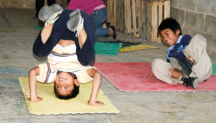 Die Kinder werden bei Sueninos in Mexiko betreut.