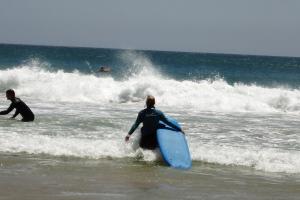 Immer den Blick am Horizont und keine Angst vor der Welle.